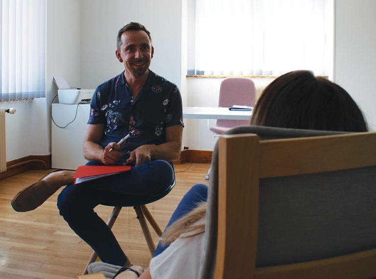 Fabien, sophrologue et cadre en entreprise